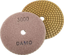"4"" Wet Diamond Polishing Pad Grit 3000 for Granite/Concrete/Marble Countertop"