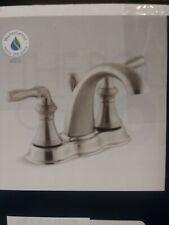 """New Open Box Kohler Devonshire K-393-N4-BN 4"""" Centerset Bathroom Sink Faucet"""