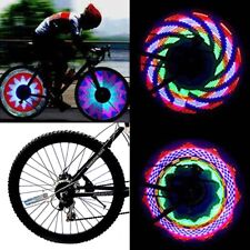 32 LED RGB Waterproof Bike Bicycle Riding Changing Wheel Flash Light for Night