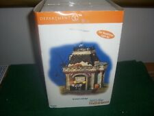 Dept 56 Halloween Grimsly'S Garage Sealed New In Box