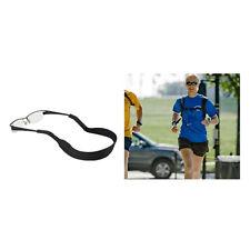 Pearl Beaded Eyeglass Spectacle Reading Glasses Chain Holder Neck Cord Strap BU Black