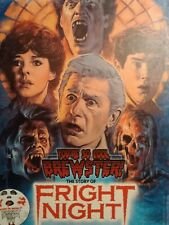 FRIGHT NIGHT you're so cool Brewster HARDBACK  the making of Frightnight New