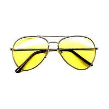 Yellow Aviator Sunglasses Hunter S. Thompson Fear and Loathing In Las Vegas Gift