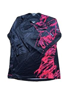 SPECIALIZED ENDURO COMP 3/4 JERSEY MENS MEDIUM BLACK PINK CYCLING