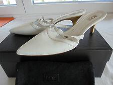 Hugo Boss de cuero de salón NP 245 € tacón alto zapatos talla 37 37,5 38