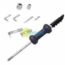 9pc 5lb Dent Puller diapositiva martillo pesado deber Kit de Herramienta de Garaje de reparación de coche Body Shop