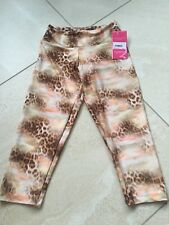 Ladies Leopard Print Short Leggings