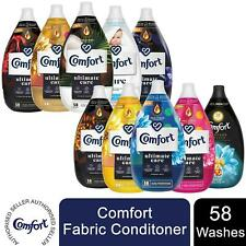 6xof870ml Comfort Ultimate Care Ultra-Concentrated Liquid Fabric Conditioner 58W