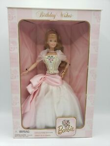 Vintage Barbie Birthday Wishes 1998 Collector Edition
