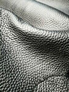 ganze große Lederhaut schwarz Leder Polsterleder neu