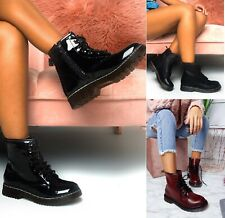 WOMENS FASHION CHUNKY BLOCK HEEL NIGHT OUT PARTY ANKLE SHOES LADIES BOOTS SIZE
