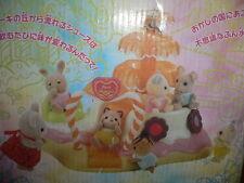 Sylvanian Families Candy Fountain Car Chocolate Cake Play Ground ~ USED JAPAN