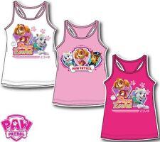 Girls vest Paw Patrol summer vest shirt sleeveless top cotton