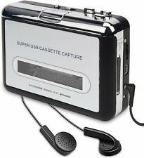 REPRODUCTOR  USB CONVERTIDOR CINTAS CASETE CASSETTE A MP3 CD MAC Y WINDOWS