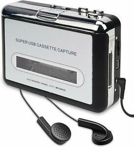 AB1 REPRODUCTOR  USB CONVERTIDOR CINTAS CASETE CASSETTE A MP3 CD MAC Y WINDOWS