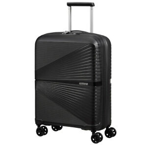 NEW American Tourister Airconic Spinner Case Onyx Black 55cm