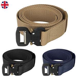 Quick Release Buckle Military Tactical Belt  Webbing Nylon Military Waistbelt