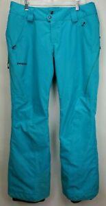Patagonia Women's Powder Bowl Gore-Tex Ski/Snowboard Pants Elwha Blue Large