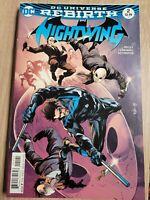 Nightwing #2 VF 2016 DC Comic DC Universe Rebirth Tim Seeley Variant