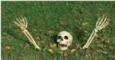 Halloween Skeleton Bones With Ground Stakes/Outdoor Lawn Decoration/Prop