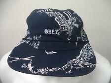 Obey Adjustable Eagle Print Hat.
