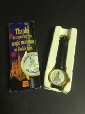 Walt Disney World 25th Anniversary Wrist Watch Made For Eastman Kodak Co 1997