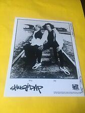 Shug & Dap Press Photo 8x10, Giant Records 1994.