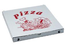 AUSVERKAUF 200 Stück Pizzakartons Pizzaboxen 29 x 29 cm  mit Aufdruck  #Z1711