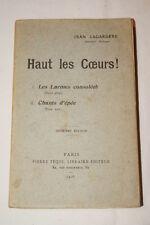 Jean Lagardère-Haut les coeurs-Chants-1914-1918,Téqui