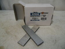 """1 Box 5000 Pc 3/16"""" X 7/8"""" Galvanized Chisel Point Crown Staples Duo Fast 6428"""