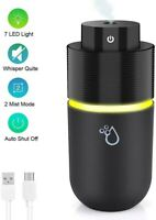 OVPPH Portable Humidifier Diffuser, USB Personal Humidifier Ultrasonic Cool Mist
