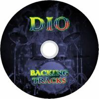 DIO METAL GUITAR BACKING TRACKS CD BEST GREATEST HITS ROCK MUSIC PLAY ALONG MP3