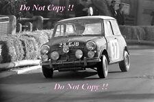 Paddy Hopkirk Mini Cooper S 33 EJB Winner Monte Carlo Rally 1964 Photograph 3