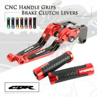 Brake Clutch Levers Handle Grip for Honda CBR600RR F5 07-19 1000 FIREBLADE 08-19