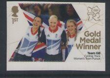 Mujeres equipo Pursuit Ganador Medalla de Oro Londres 2012 Royal Mail Menta stampfree P&P