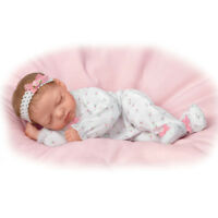 SO TRULY REAL ASHTON DRAKE  SNUGGLE CLOSE SADIE BABY DOLL BY MARITA WINTERS 18""