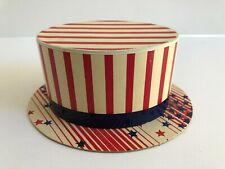 Vintage July 4Th Patriotic Hat Candy Container - Near Mint!