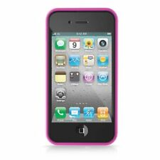 iLuv Flex-Trim TPU Jelly Frame for iPhone 4 Series - Pink