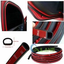 Weatherstrip D-shape Universal Car Door Rubber Weather Seal 4M 13Ft Hollow Strip (Fits: Opel)