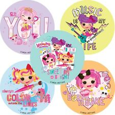 Lalaloopsy Stickers x 5 - Birthday Party - Favours -Loot Ideas- Lalaloopsy Magic