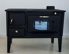 Stufa a legna Cucinare stufa Forno con vetro PROMETEY 7 kW ghisa top NAR TIPO
