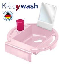 Waschbecken weiß silber grau TOP Rotho Kiddy Wash Kinder