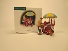 New Department 56 Christmas in the City (Cic) Pretzel Cart #58973