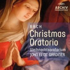 2-CD BACH - CHRISTMAS ORATORIO - JOHN ELIOT GARDINER (CONDITION: NEW)