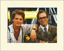 HUEY LEWIS BACK TO THE FUTURE PP MOUNTED 8X10 SIGNED AUTOGRAPH PHOTO