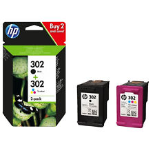 Hp X4d37ae Combo 2-pack Bk/color No. 302