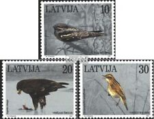 Latvia 447-449 (complete issue) unmounted mint / never hinged 1997 Birds
