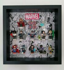 Lego Display Case Frame for MARVEL MINIFIGURES (71031) Black Frame