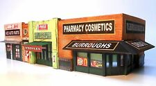 Downtown Deco HO Scale Classic American Block! Craftsman Kit