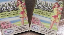 Lot of 2 the Balm Cosmetics Balm Springs In Full Swing blush ipsy